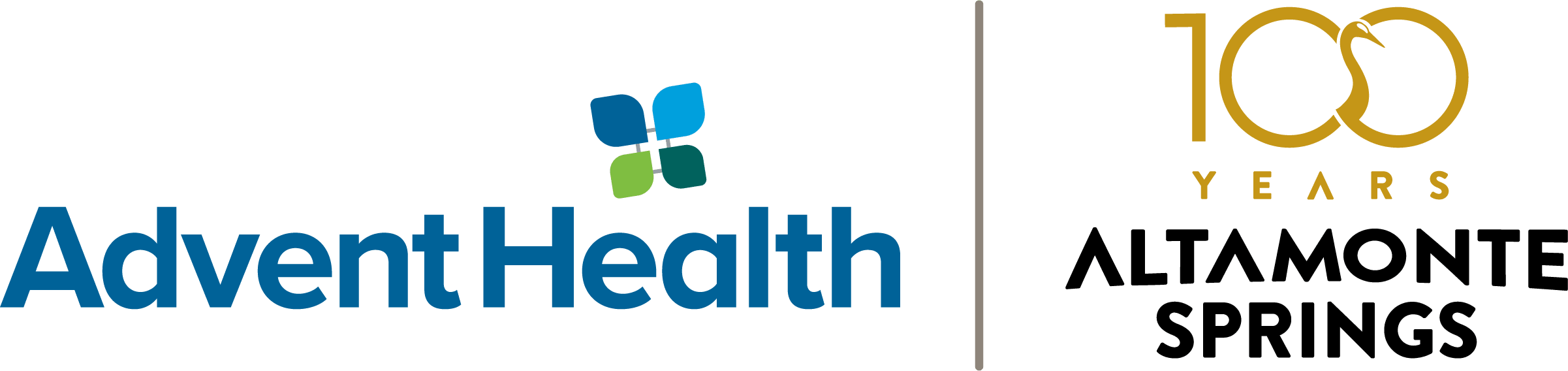 Advent Health and Altamonte Springs Logos